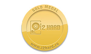 Награда поратала i2HARD Gold Medal