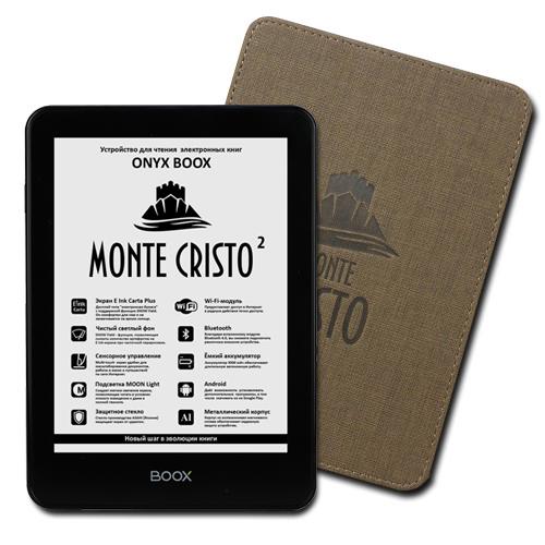 «Розумна» обкладинка ONYX BOOX Monte Cristo 2
