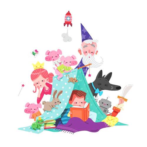 Более 100 детских книг